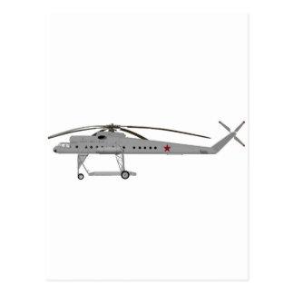 Mil Mi-10 Harke Cat#365 Postcard