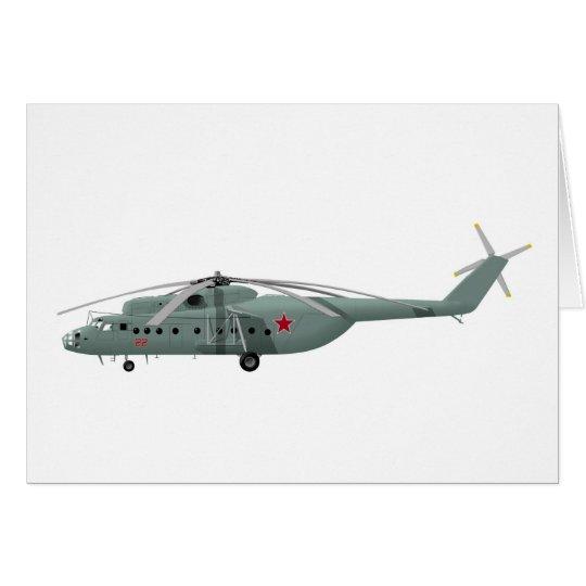 Mil Mi-6 Hook Card