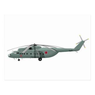 Mil Mi-6 Hook Postcard