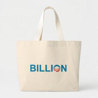 Mil millones bolsa tela grande