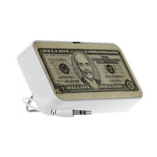Mil millones Doodle del altavoz de Bernanke Bill d