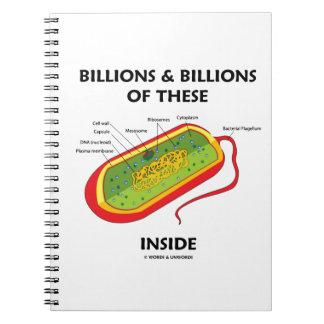 Mil millones y mil millones de éstos (Prokaryote)  Libro De Apuntes Con Espiral