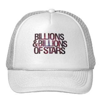 Mil millones y mil millones de estrellas gorros