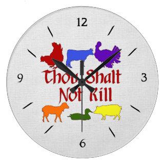 Mil no matará reloj redondo grande