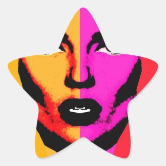 Mil novecientos setenta y tres pegatina en forma de estrella