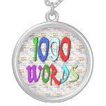 Mil palabras - 1000 palabras joyerias personalizadas