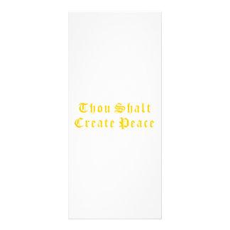 Mil Shalt crea paz Lonas Publicitarias