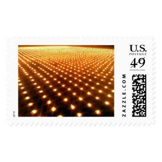 Mil velas timbres postales