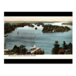 Mil vintages pintoresco 1907 de las islas NY Tarjeta Postal