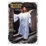 Milagro de la tarjeta de la resurrección