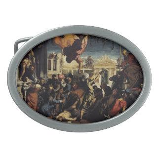 Milagro de Tintoretto- de St Mark que libera el es Hebilla Cinturón