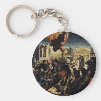 Milagro de Tintoretto- de St Mark que libera el es Llaveros Personalizados