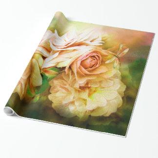 Milagro de un color de rosa - papel de regalo