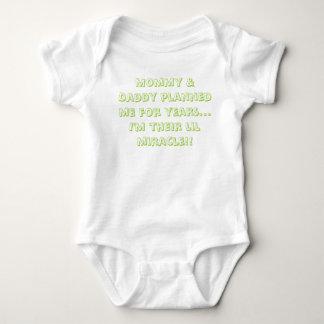 milagro del bebé polera