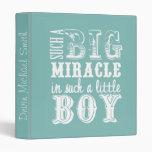 Milagro grande, pequeño libro Muchacho-Azul del be