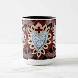 Milagro Heart design mug