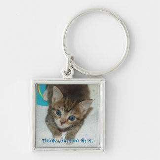 Milagro Think adoption first! Keychain