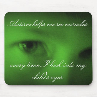 Milagros del autismo mouse pads
