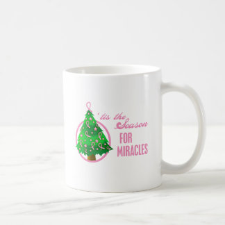Milagros del navidad del cáncer de pecho taza