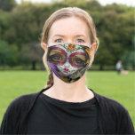 Milagros La Calavera dia de los Muertos Face Mask