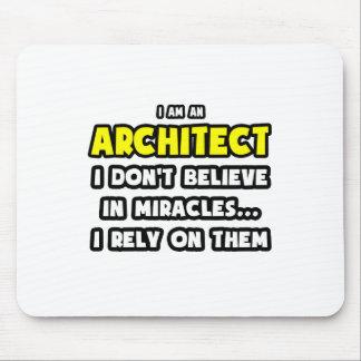 Milagros y arquitectos… divertidos tapete de ratones
