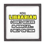 Milagros y bibliotecarios… divertidos cajas de regalo de calidad