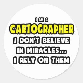 Milagros y cartógrafos… divertidos etiqueta