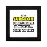 Milagros y cirujanos… divertidos caja de recuerdo