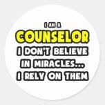 Milagros y consejeros… divertidos etiquetas