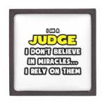Milagros y jueces… divertidos cajas de recuerdo de calidad