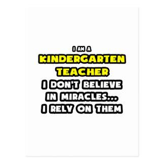 Milagros y maestros de jardín de infancia… diverti postales