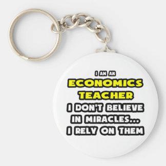 Milagros y profesores de la economía… divertidos llavero