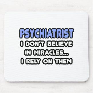 Milagros y psiquiatras tapete de ratones