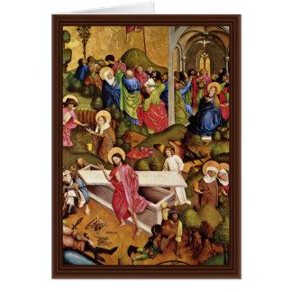 Milagros y resurrección pentecostales por Meister Tarjeta De Felicitación