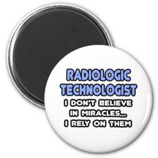 Milagros y tecnólogos radiológicos imán de frigorifico