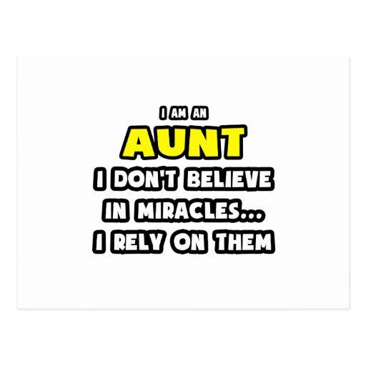 Milagros y tías… divertidos postales