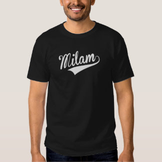 Milam, Retro, T-shirt