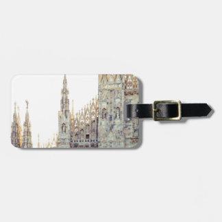 Milan Cathedral Bag Tag