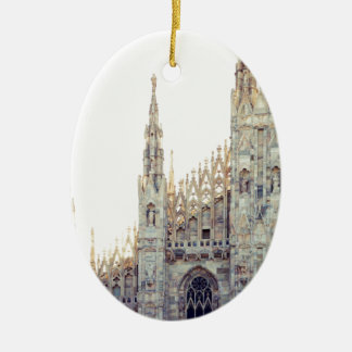 Milan Cathedral Ceramic Ornament