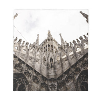 Milan cathedral dome - Italy Note Pad