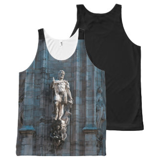 Milan Cathedral dome statue architecture monument All-Over-Print Tank Top