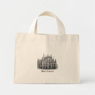 Milan Cathedral Drawing's Canvas Bag