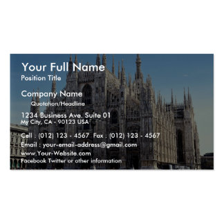 Milan Cathedral, Italy Double-Sided Standard Business Cards (Pack Of 100)