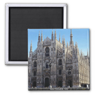 Milan Cathedral, Italy Magnet
