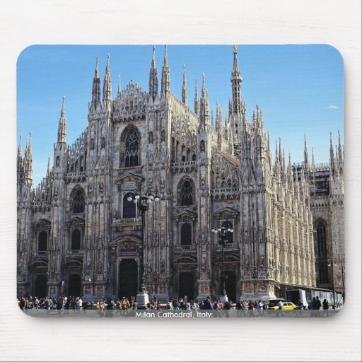Milan Cathedral, Italy Mouse Pad