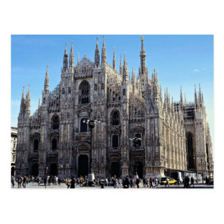 Milan Cathedral, Italy Postcard