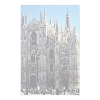 Milan Cathedral, Italy Stationery