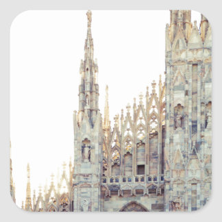 Milan Cathedral Square Sticker