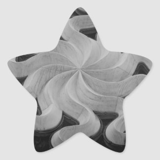 Milan Cathedral Tracery Star Sticker