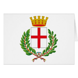 Milan Coat of Arms Greeting Card